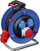 Удлинитель на катушке 30 м (2 роз.+1 СЕЕ cо штекером, 11 кВт, 5х1,5 мм2; степень защиты: IP20) Brennenstuhl Garant
