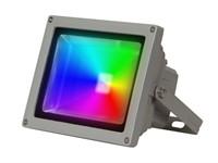 Прожектор светодиодный PFL -RGB-C/GR 20 w, IP 65,Jazzway, драйвер в комплекте