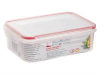 Контейнер пластиковый для пищевых продуктов, 1,6 л, с крышкой, серия Good Lock, PERFECTO LINEA