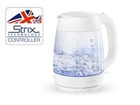 Чайник электрический AKL-242 NORMANN (2200 Вт; 1,7 л; закаленное стекло; контактная группа Strix, подсветка)