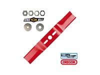 Нож для газонокосилки 43 см изогн. OREGON (69-252-0)