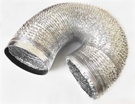 Гофра (воздуховод)  D 150, до 2 м., алюминиевая