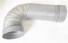 Гофра (воздуховод)  D 150, до 2 м., пластиковая