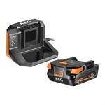 Набор AEG SET L 1820 S (аккумулятор 18 В Li-Ion, 2 Ач, зарядное устройство)