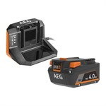 Набор AEG SET L 1840 S (аккумулятор 18 В Li-Ion, 4 Ач, зарядное устройство)