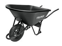 Тачка строительная TRUPER (120 л, 530 кг, 1 колесо 40х10 см)