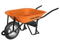 Тачка строительная TRUPER (65 л, 580 кг, 1 колесо 40х10 см)