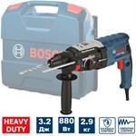 Сетевой перфоратор BOSCH GBH 2-28 L-Case (880 Вт, 3.2 Дж, 3 реж., патрон SDS-plus, вес 2.9 кг)