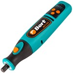 Гравер аккумуляторный Bort BCT-72 Li (1 Ач - 7,2 В, 5 000-25 000 об/мин, подсветка рабочей зоны)