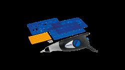 Гравер электрический DREMEL Engraver 290-3 Hobby (35 Вт, 6000 уд/мин, цанга 3.2 мм) + аксессуары