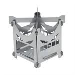 Печь-щепочница ACTIVE 03-15 нерж. (124×124×115мм) BELMASH