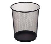 Корзина для бумаг 9 литров, 23х19х27, черная, REDONDA, PERFECTO LINEA