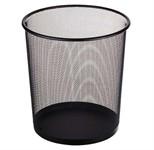 Корзина для бумаг 12 литров 26.5х22х28, черная, REDONDA, PERFECTO LINEA