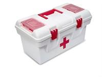 Ящик-аптечка пластмассовый 40*22*21 см