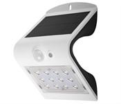Светильник светодиодный, настенный на солнечной батарее SLR-W03-wh с датч. движ. ФАZА