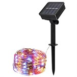Светильник садовый на солнечной батарее SLR-G03-100M ФАZА (нить, мультицв., 100 LED)
