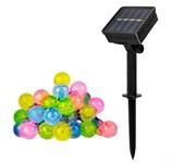 Светильник садовый на солнечной батарее SLR-G05-30M ФАZА (гирлянда, шарики, мультицв) (5033375)