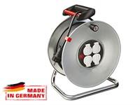 Удлинитель на катушке 50 м (4 роз., 3.3 кВт, метал. катушка, степень защиты: IP20) Brennenstuhl Garant