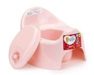 Горшок детский Lalababy Follow Me с крышкой, розовый пастельный, LITTLE ANGEL