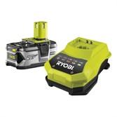 Аккумулятор Ryobi RB 18 L 40 + зарядное устройство Ryobi BCL 14181 H